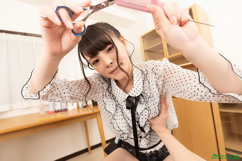 [VR] 噂のヤリマン美容師 ~カットにしますか?先にスッキリしますか?~ 天緒まい
