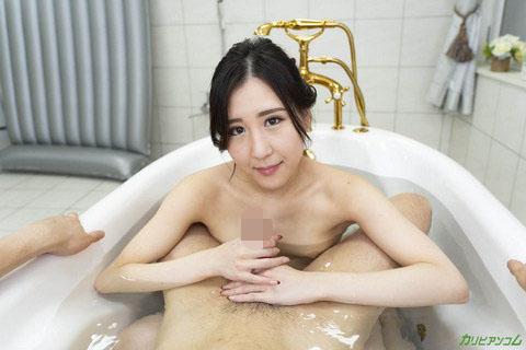 [VR] 泡姫とびしょ濡れ泡まみれで一緒にイこう! 櫻井えみ